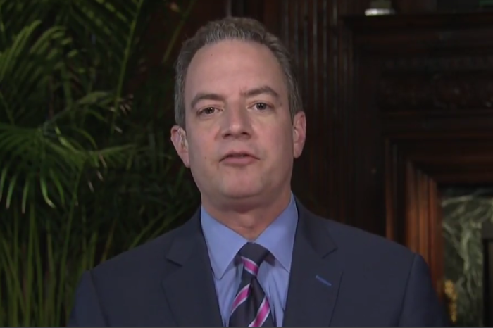 """Reince Priebus slams """"total garbage"""" stories and the """"enemy"""" media on """"Face the Nation"""""""