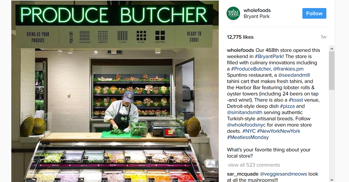 "Today in nonsense: Whole Foods' ""Produce Butcher"" will do this depressingly simple task for you"