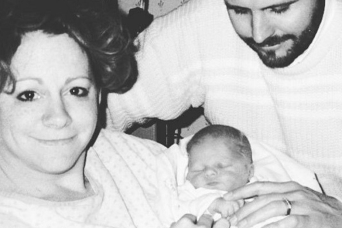 This adorable photo of Reba McEntire's son has love written all over it