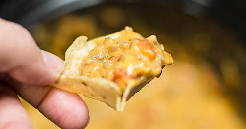 With just 3 simple ingredients and a slow cooker, you can make this irresistible sausage queso