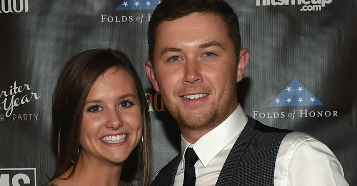 Scotty McCreery and his sweetheart, Gabi, let their love soar in this new vacation video