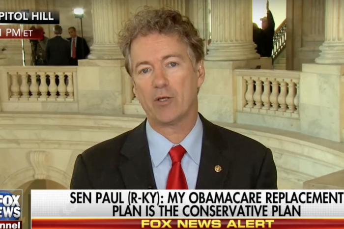 "Rand Paul: ""I don't think 'ObamaCare-lite' is what we should do"""