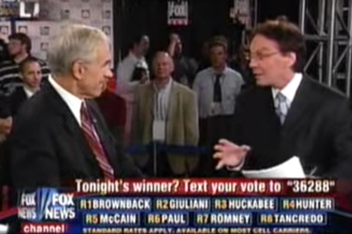 Remember when Alan Colmes and Ron Paul used to drive Sean Hannity crazy?