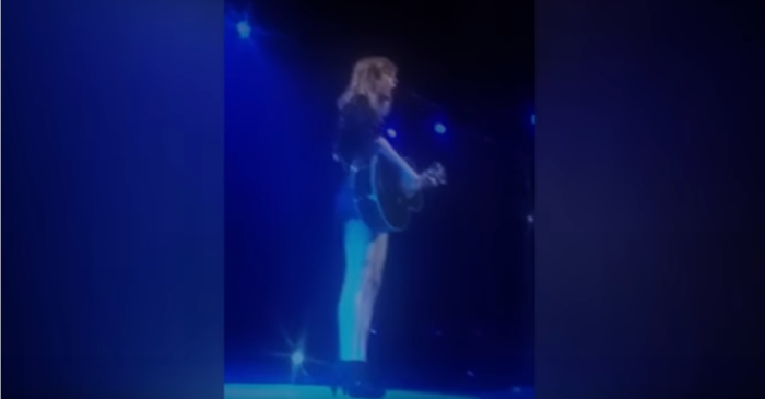 Listen as Taylor Swift goes country when she performs this Little Big Town hit