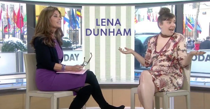 "Lena Dunham derailed ""TODAY"" with a ""penis"" remark that sent Maria Shriver into a tailspin"