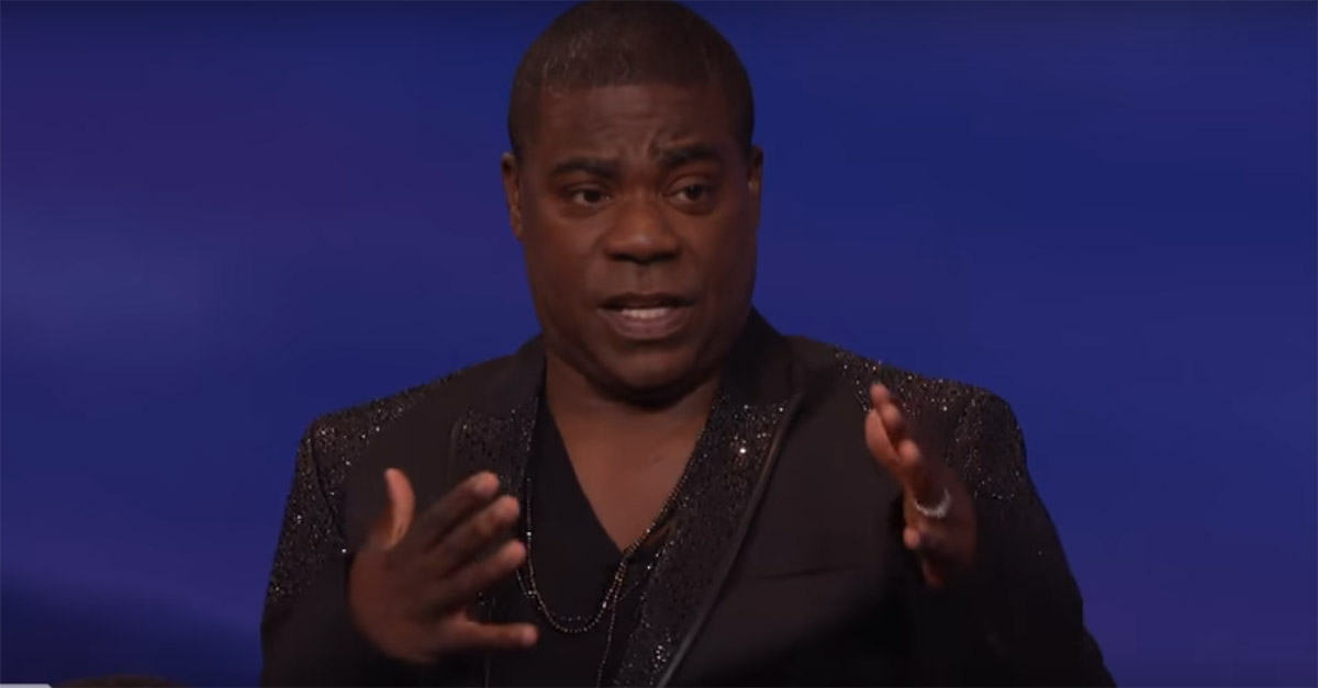 Improv master Tracy Morgan spins a quick yarn about how he lost a fight to a 250-pound girl in the third grade