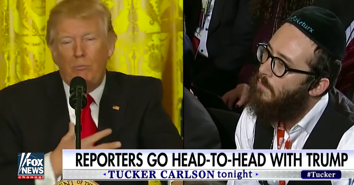 """Reporter who Trump told to """"sit down"""" makes a surprising admission about the encounter"""