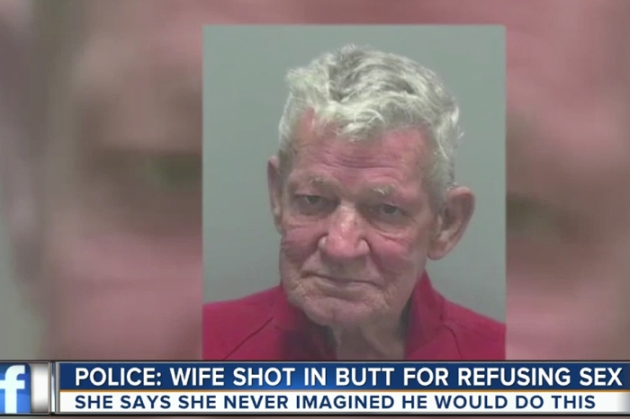 Report claims that a 76-year-old newlywed shot his wife after an argument about having sex