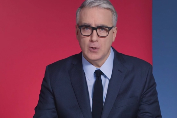 Keith Olbermann tones it down in a video that he wants every President Trump supporter to see