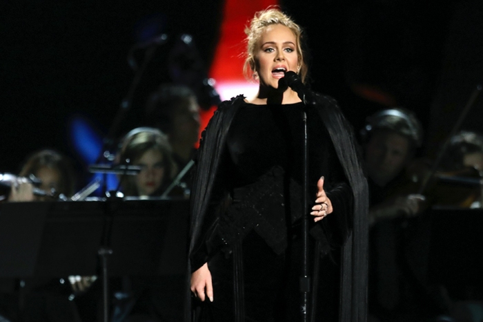 One year ago, Adele predicted her performance restart at the Grammys