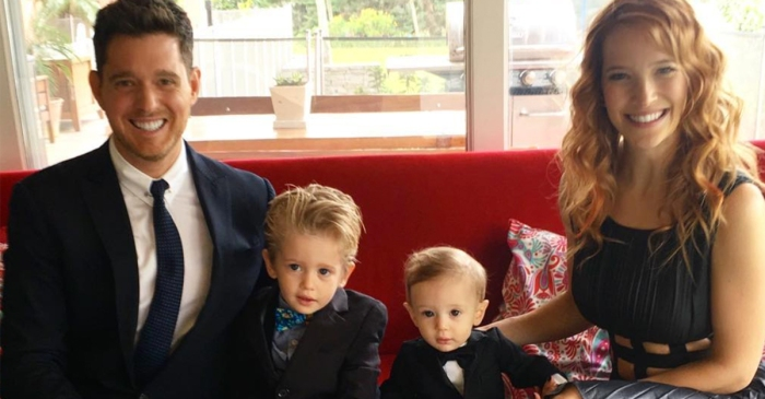Michael Bublé and wife Luisana Lopilato share the happy news that their party of four is growing by one