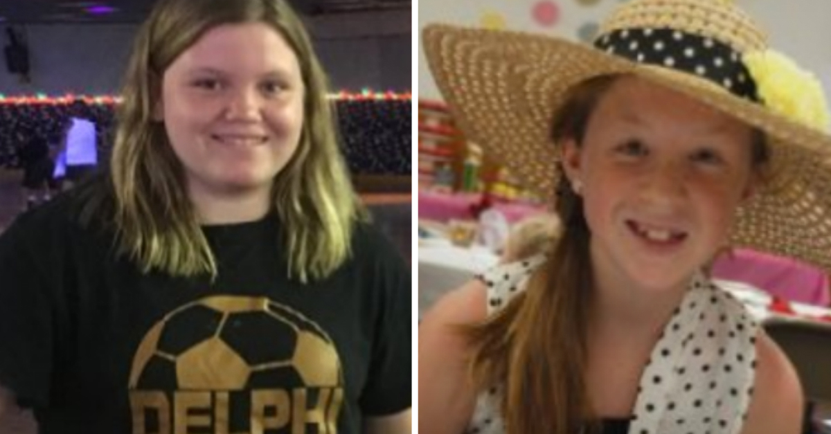 Authorities may have made a breakthrough in the murder of two teenage friends in Indiana