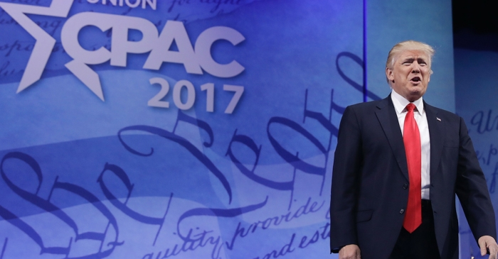 President Trump defined his political movement during the first CPAC speech of his administration