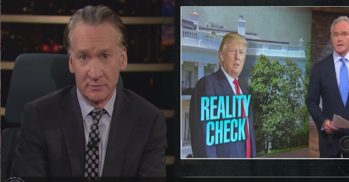 Bill Maher delivers a message to the media after a contentious week of coverage