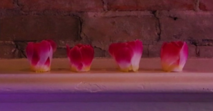 Add some glow to your Valentine's Day with these DIY flameless rose petal tealights