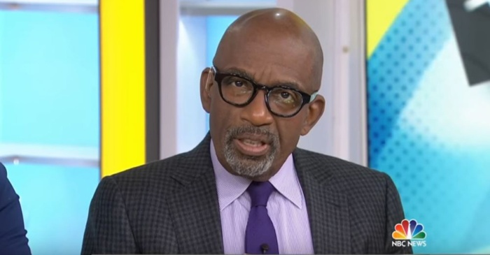 "Al Roker takes a moment to bid farewell to his friend and colleague Tamron Hall on ""TODAY"""