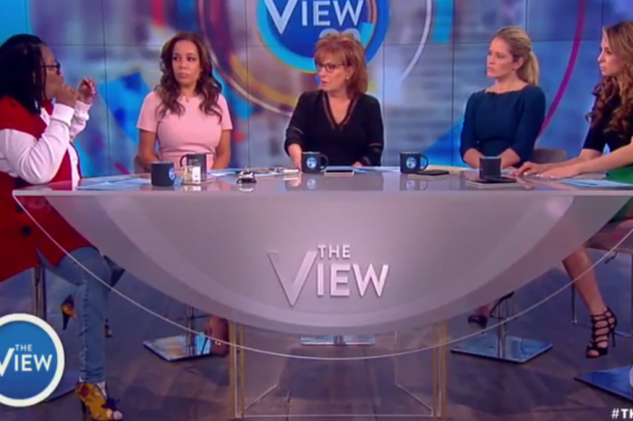 """President Trump's congressional address was so well-received that some on """"The View"""" had praise"""