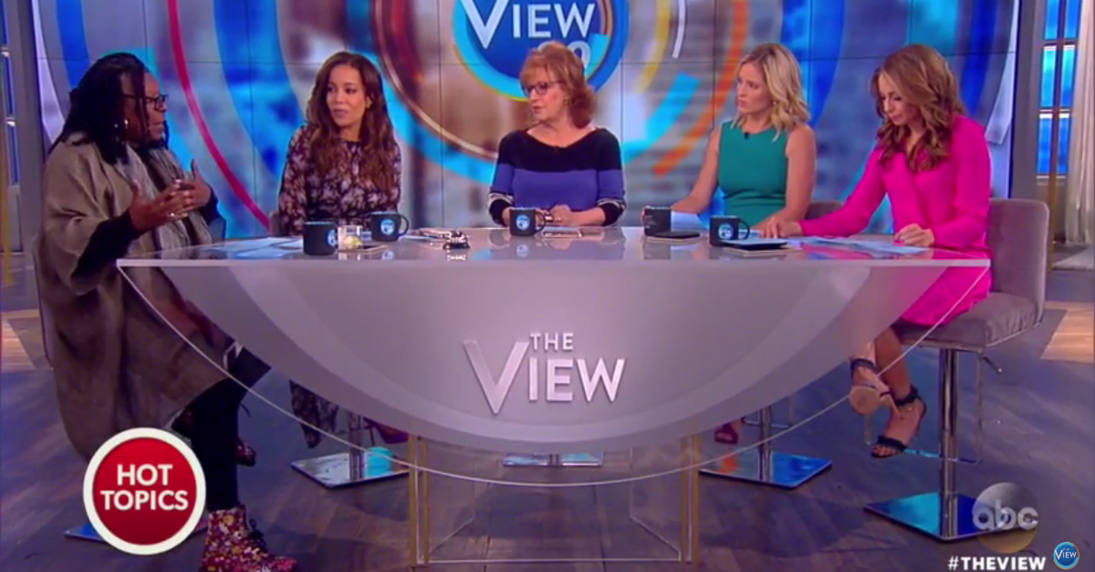 "Regardless of political leaning, the ladies of ""The View"" all agree that President Trump's tax returns are a distraction"