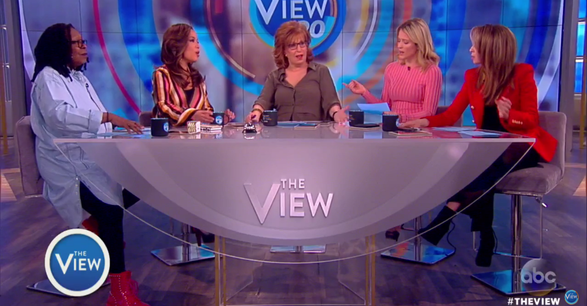 """As Many Had Called for Jeff Sessions to Resign, One Woman on """"The View"""" Had a Different Perspective"""