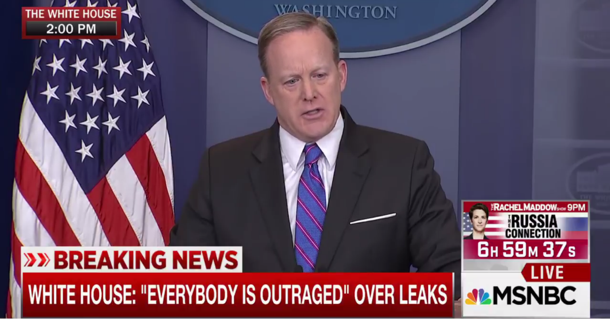 White House Press Secretary Sean Spicer was asked to clarify President Trump's current position on WikiLeaks
