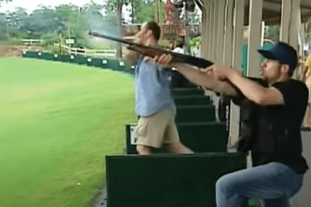 Man Pranks Driving Range by Bringing Shotgun, Skeet Shooting the Golf Balls