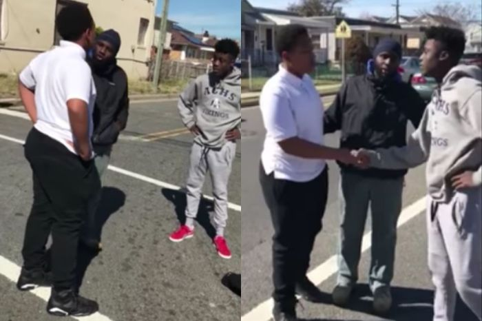 Father Breaks Up Street Fight and Teaches Angry Young Men a Valuable Lesson