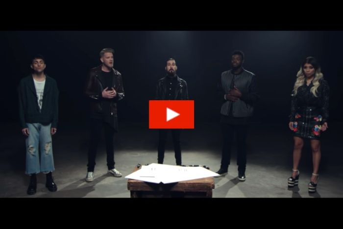 "Pentatonix Puts a Hauntingly Beautiful Spin on John Lennon's ""Imagine"""