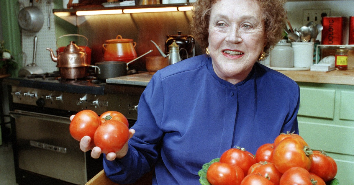 Julia Child forever changed the cooking world