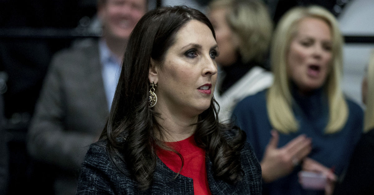 RNC Chairwoman responds to Democratic congressman's questionable remarks about Kellyanne Conway and demands an apology
