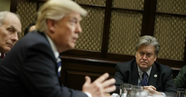 Trump won't cut government, and Steve Bannon tells us why