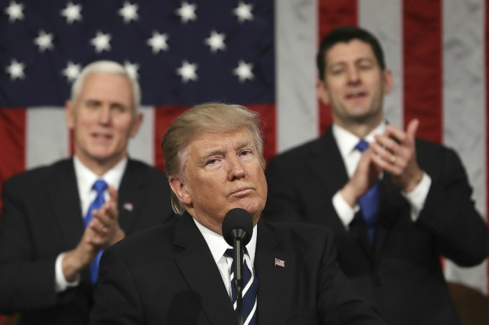 Donald Trump's address to Congress was heavy on showmanship and doomed policy