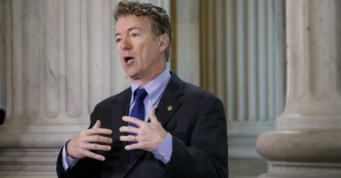 "Rand Paul wants tax reform to include a cut for ""every American who pays taxes"""