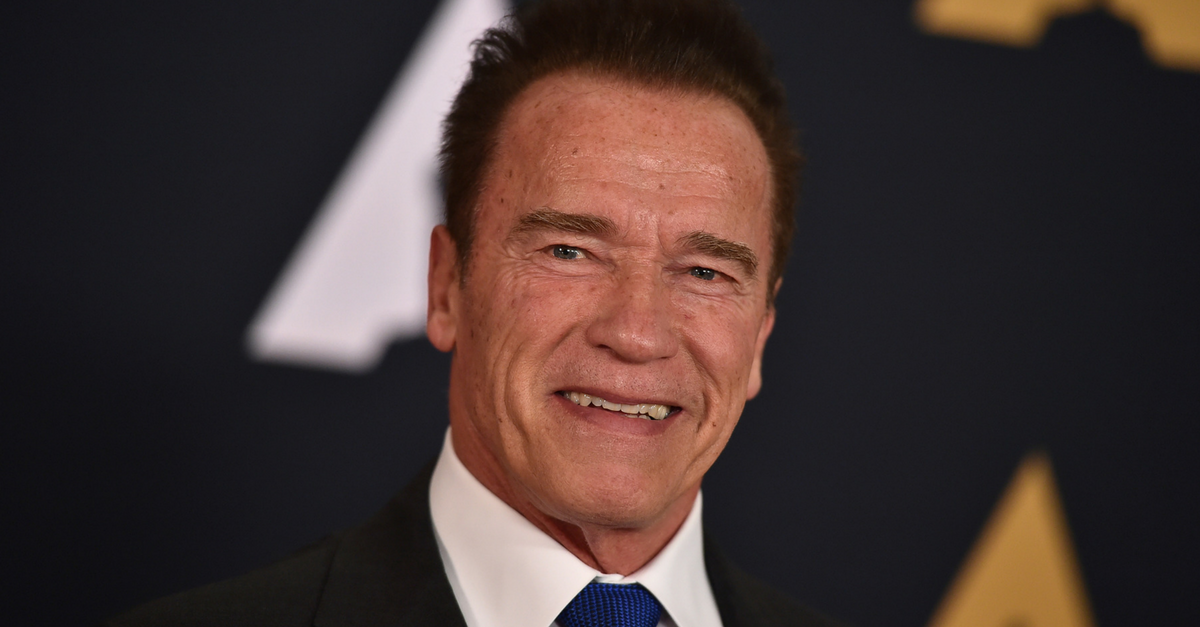 Arnold Schwarzenegger pays tribute to the men and women who have fought for our freedoms with a heartfelt video