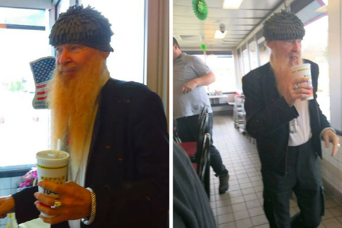 One man's trip to Waffle House turned into a meal he'll never forget when this celebrity walked through the door
