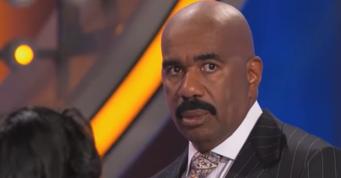 """Watch it all come crashing down on Steve Harvey in this hilarious compilation of bad """"Family Feud"""" answers"""