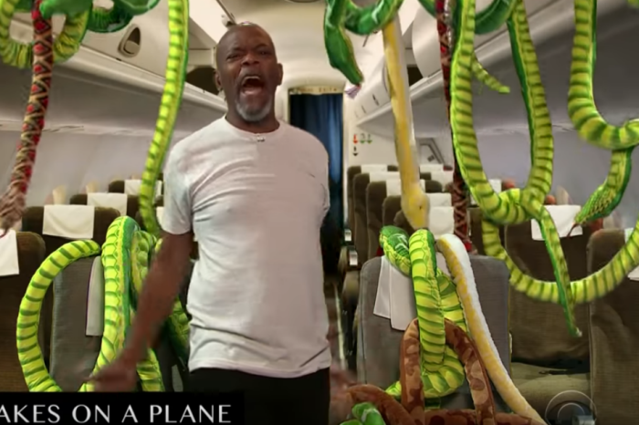 Samuel L. Jackson takes James Corden through his entire film career and yeah, he's still got it