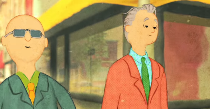 Funnyman Bill Murray joins former Letterman musician Paul Shaffer for this feel-good tune