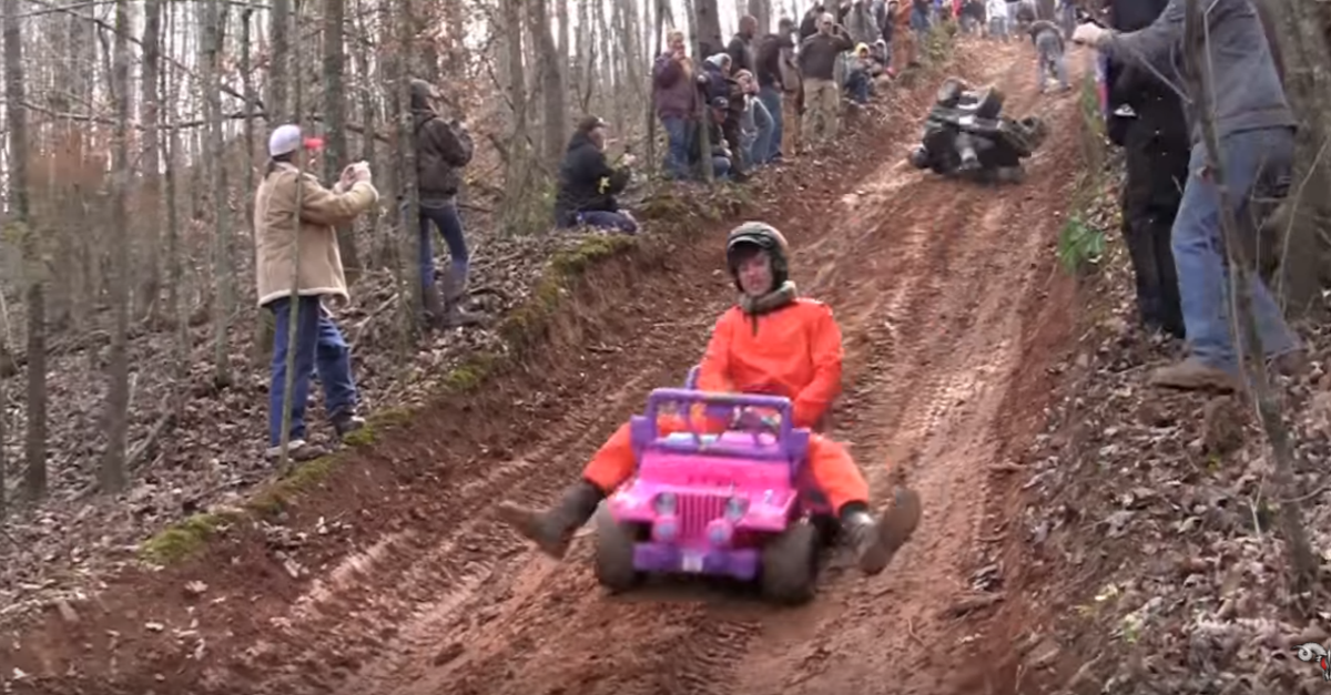 """Barbie Jeep racing"" is a thing, and it's hilariously awesome"