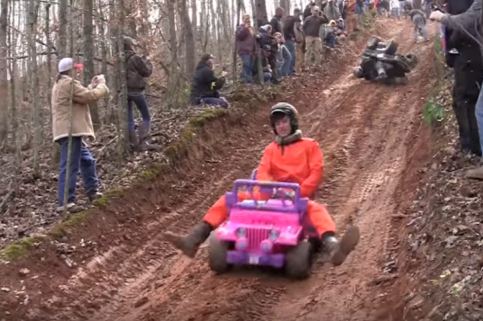 """""""Barbie Jeep racing"""" is a thing, and it's hilariously awesome"""