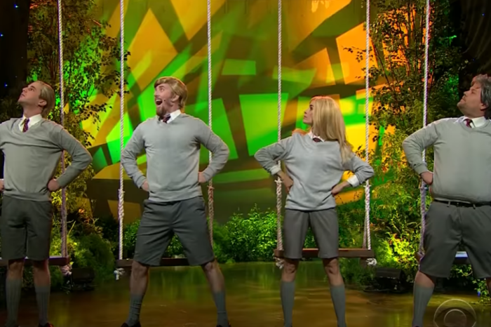 "Just try not singing along with James Corden's ""Donald: The Musical"""