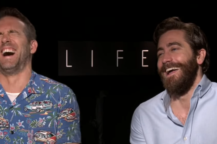 Jake Gyllenhaal and Ryan Reynolds were simply laughing too hard to answer questions in this off-the-rails interview