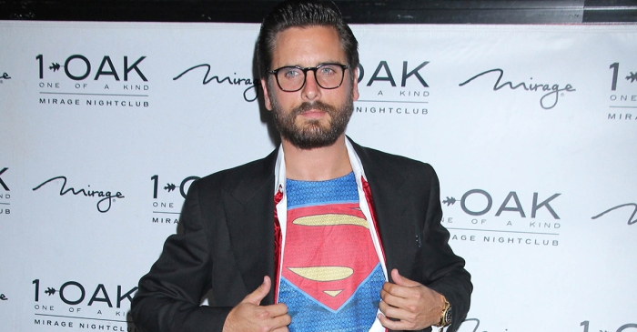 Scott Disick has a doozy of a new excuse for his bad behavior