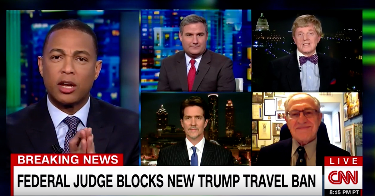"""CNN panel torpedoes into travel ban chaos: """"I never want to be on the show with this bigot again"""""""