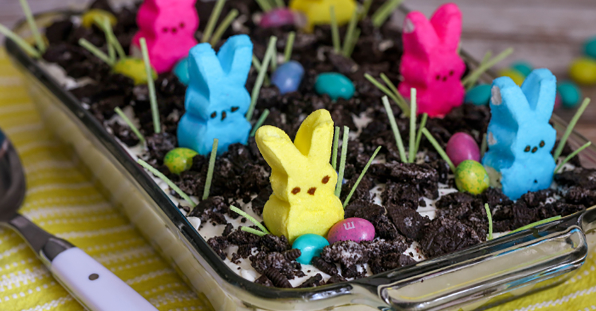 Get hopping on Easter with this dirt cake