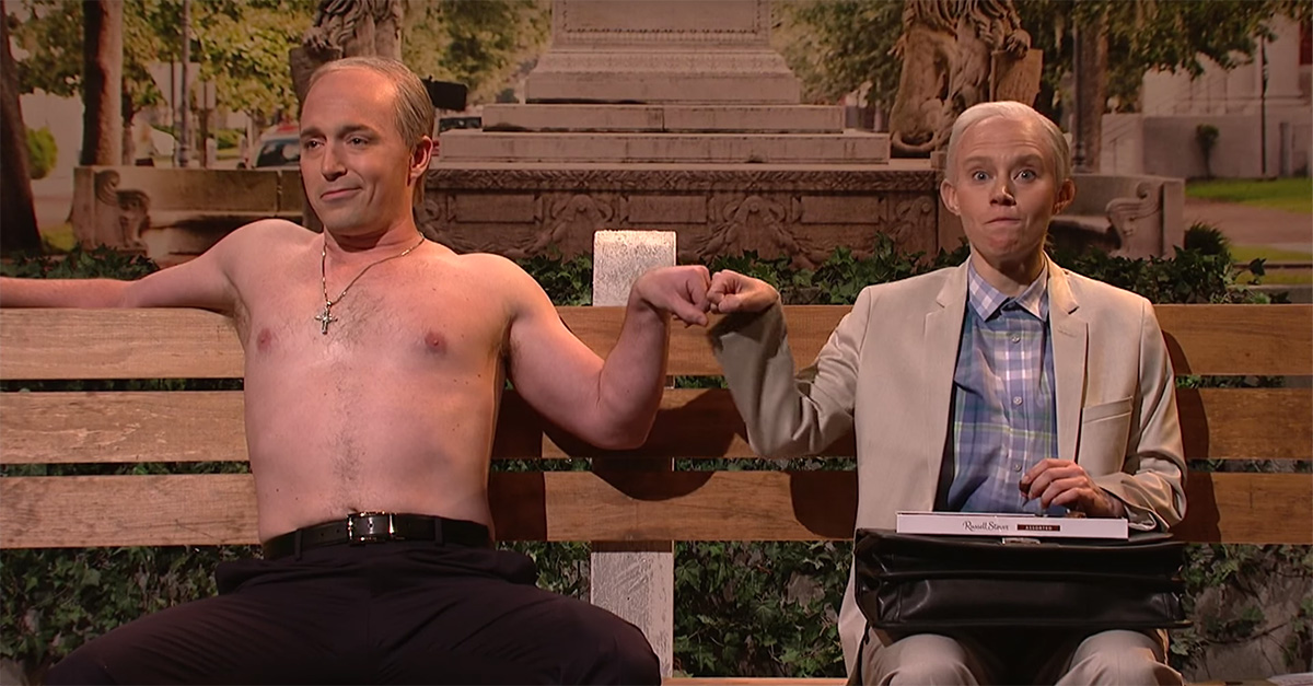 """SNL Channels Classic Movie """"Forrest Gump"""" with a Jeff Sessions Twist"""