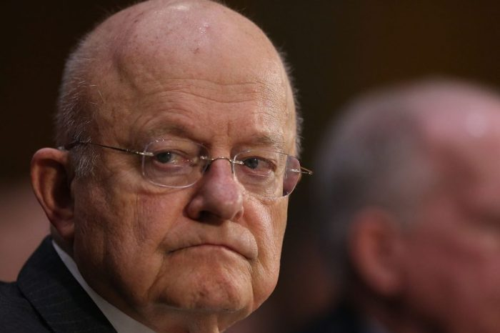 "Former Director of National Intelligence James Clapper calls for an independent investigation to ""clear the air"" about Russia"