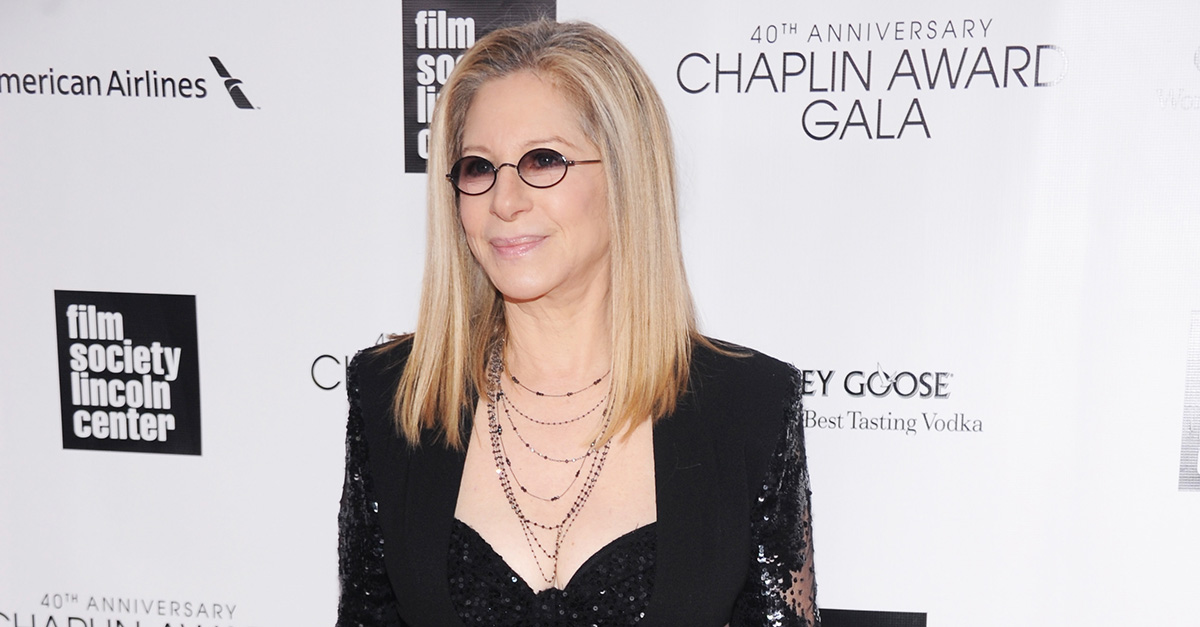 According to Barbra Streisand, President Trump is to blame for her recent weight gain