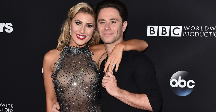 Sasha Farber is every groom-to-be as he and Emma Slater finalize plans for their upcoming wedding