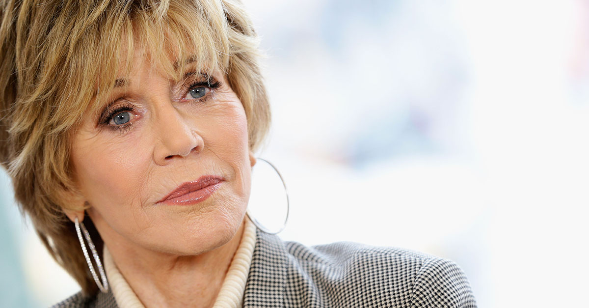 "Jane Fonda pushes back on the ""weird thing"" Megyn Kelly discussed in that painful interview"