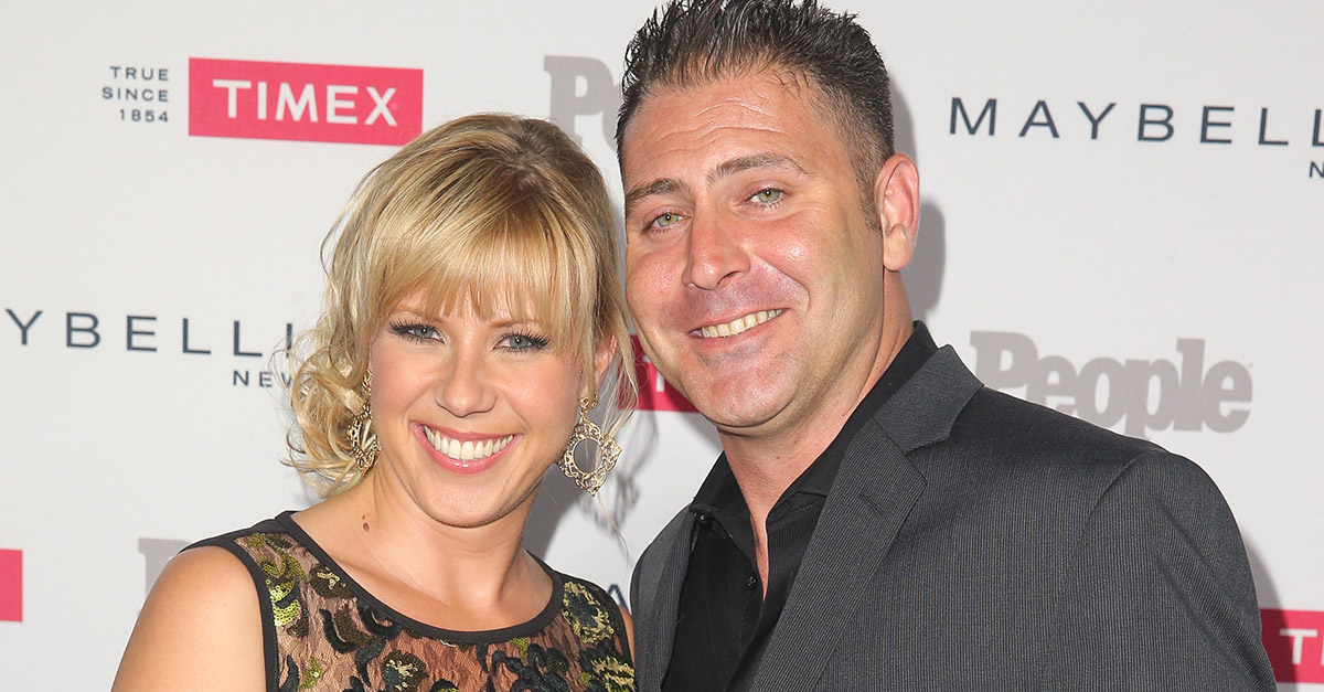 "Jodie Sweetin assures fans she'll be ""just fine"" after a scary week involving her ex-fiance"